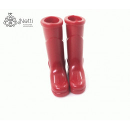 Сапоги резиновые для кукол Амурские красные