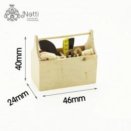 Набор инструментов для кукол в ящике Сабина