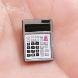 Калькулятор для кукол серебристый