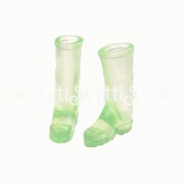 Сапоги резиновые для кукол Кади зеленые