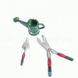 Набор садовых инструментов для кукол Джек зеленый