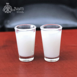 Стаканы с молоком для кукол Минден