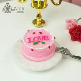 Пирожное для кукол Альба