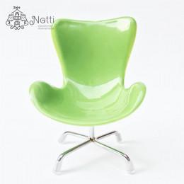 Кресло для кукольного домика Маккорт зеленое