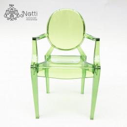 Кресло для кукольного домика Купер зеленое