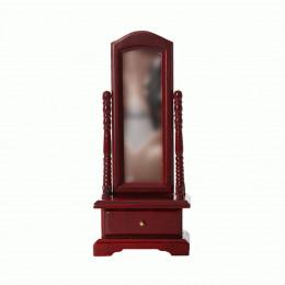 Напольное зеркало для кукольного домика G03014