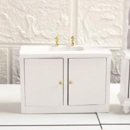 Шкафчик с мойкой для кукольного домика G03020