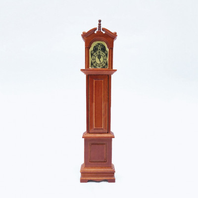 Часы для кукольного домика G03025 орех