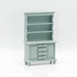 Шкаф для кукольного домика Лавр васильковая бирюза