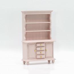 Шкаф для кукольного домика Лавр дымчатая роза