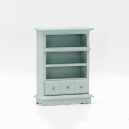 Шкаф для кукольного домика Веринг васильковая бирюза