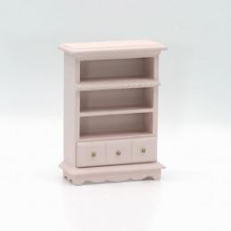 Шкаф для кукольного домика Веринг  дымчатая роза
