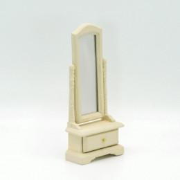 Напольное зеркало для кукольного домика Диадема светлая охра