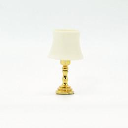 Декоративная лампа для кукол слоновая кость