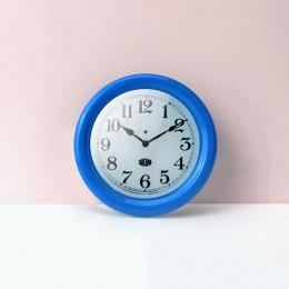 Настенные часы для кукольного дома голубые G10303