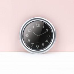 Настенные часы для кукольного дома черные G10304