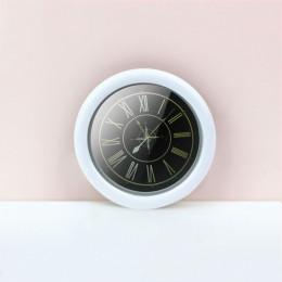 Настенные часы для кукольного дома белые G10309