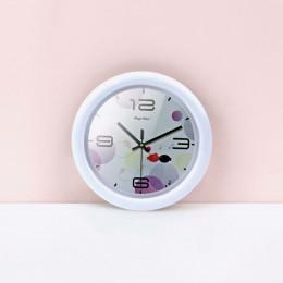 Настенные часы для кукольного дома белые G10310