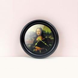 Настенные часы для кукольного дома черные G10313