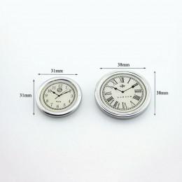 Набор настенных часов для кукольного дома серебристый G10337