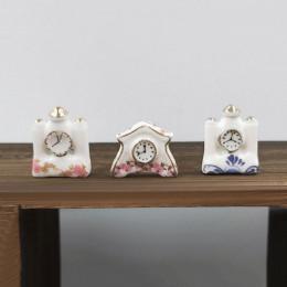 Набор керамических часов для кукольного дома G10346
