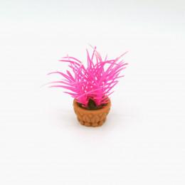 Цветок в горшке для кукол Джакас розовый