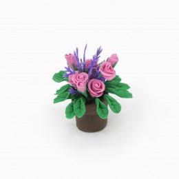 Цветы для кукольного домика Дерби