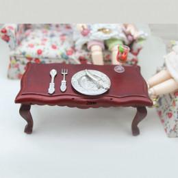 Тарелка с приборами для кукол Суарес