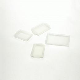 Набор пластиковых лотков для кукол белый