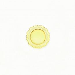 Блюдо для кукол Лоран желтое