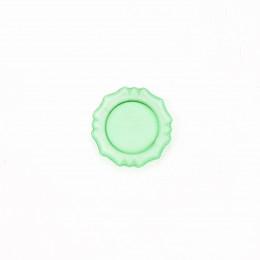 Блюдо для кукол Лоран зеленое