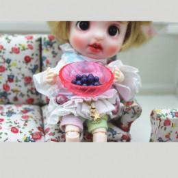 Блюдо для кукол Мелисса розовое