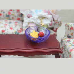 Блюдо для кукол Мелисса фиолетовое