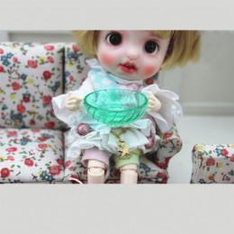 Блюдо для кукол Мелисса зеленое