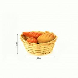 Хлеб в корзинке для кукол Дели