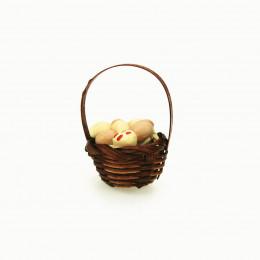 Корзинка с яйцами для кукол Верея