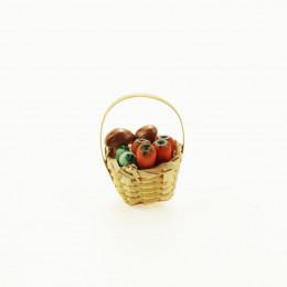 Корзинка с грибами для кукол Валдай