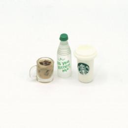 Набор напитков для кукол кофе какао вода