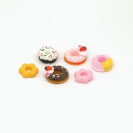 Набор пончиков для кукол 6 шт.