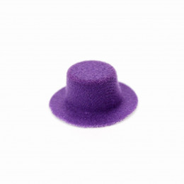 Шляпка для кукол Киокар фиолетовая