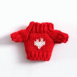 Свитер для кукол Тэйлор красный