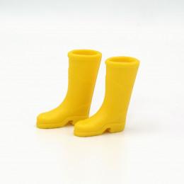 Сапоги резиновые для кукол желтые
