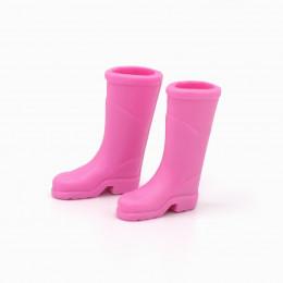 Сапоги резиновые для кукол розовые