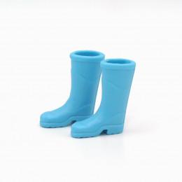 Сапоги резиновые для кукол голубые