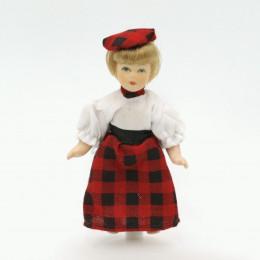 Житель для кукольного домика Ангелина