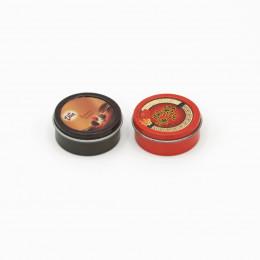 Коробки для печенья для кукол 2 шт. красная и шоколадная