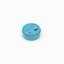 Коробка для печенья для кукол голубая