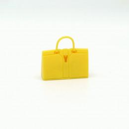 Сумка для кукол желтая
