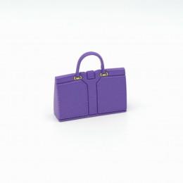 Сумка для кукол фиолетовая