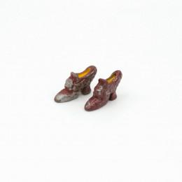 Туфли с пряжкой для кукол
